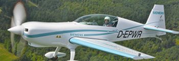 Fastest manned electric aircraft: Siemens Extra EA-300 – 330LE
