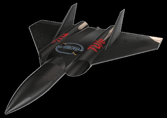 Dual Midi EDF Jet Carbon